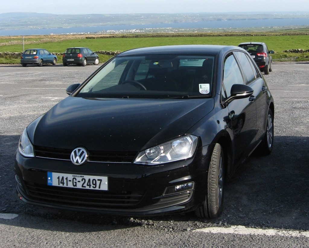 Rental VW Golf (day 2)