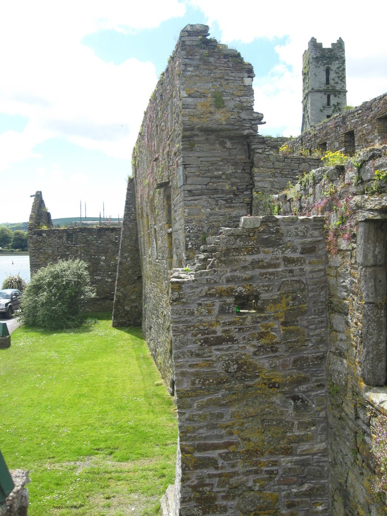 View from the Friary wall