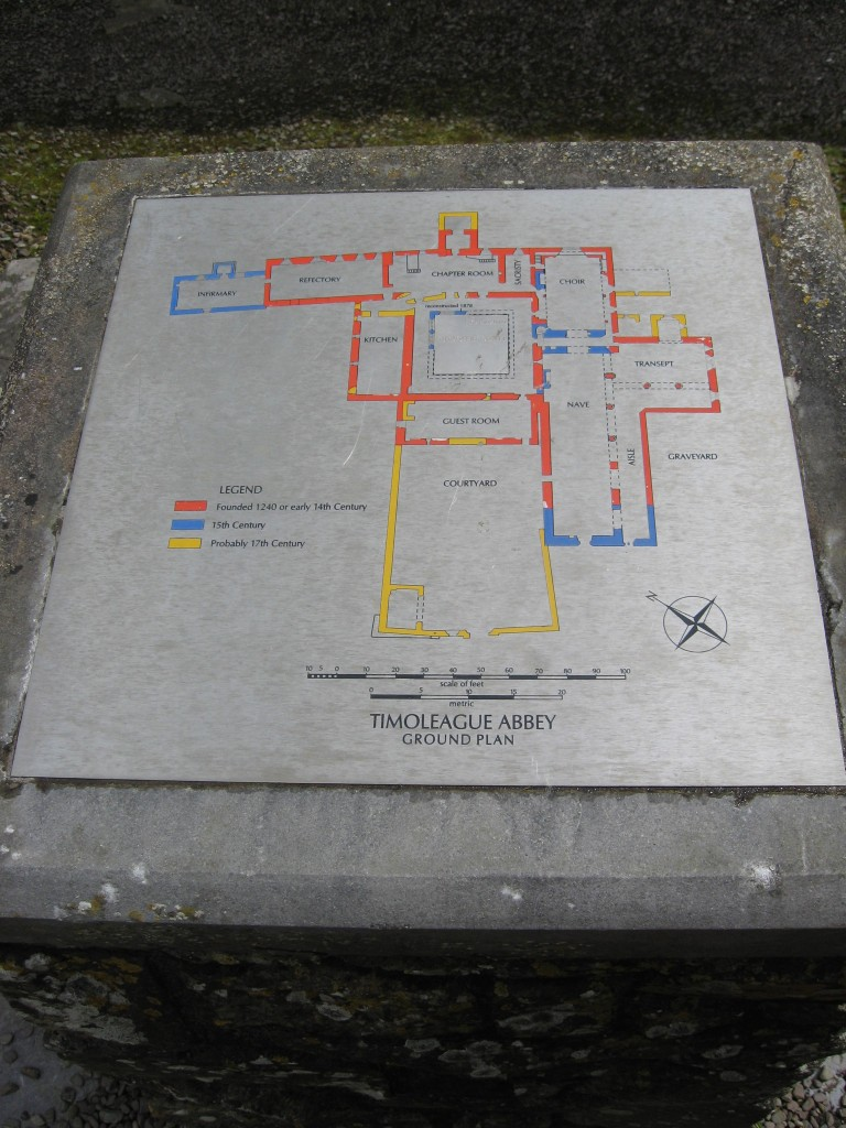 Friary plan
