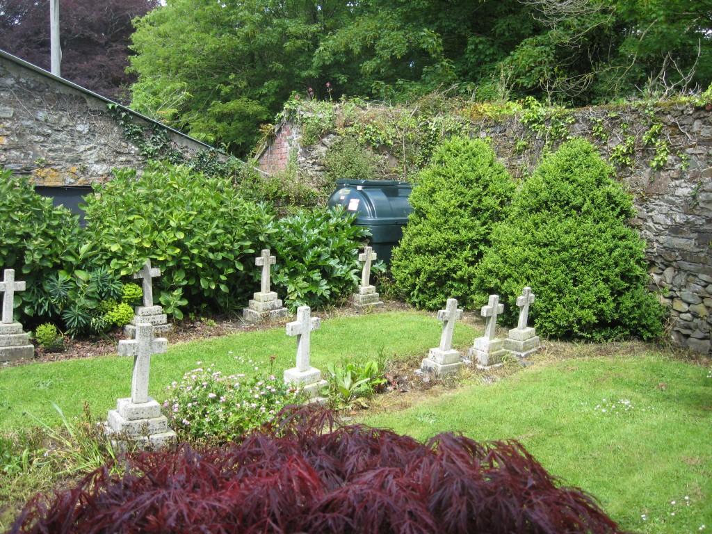 Travers burial plot, Timoleague Anglican Church