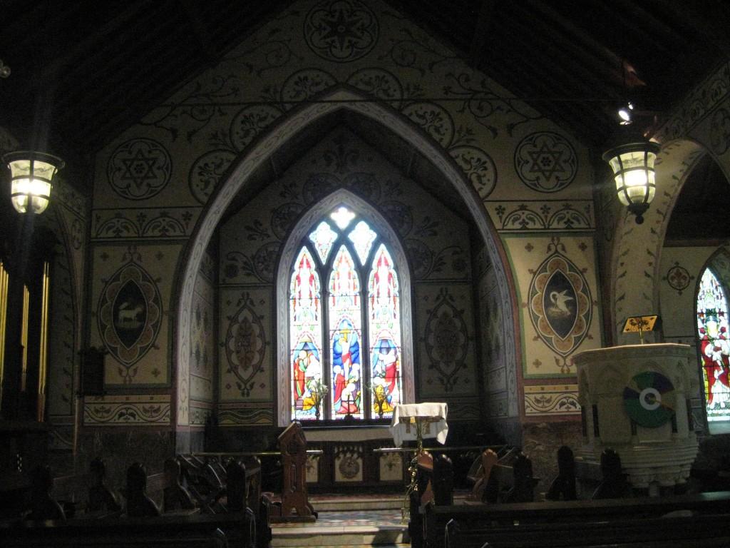 Window, Interior, Anglican Church of the Ascension, Timoleague