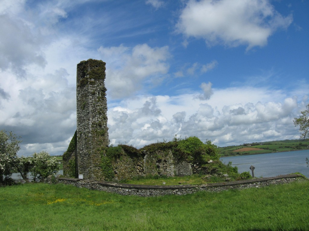 Abby ruins near Ballynamona on the Arigadeen