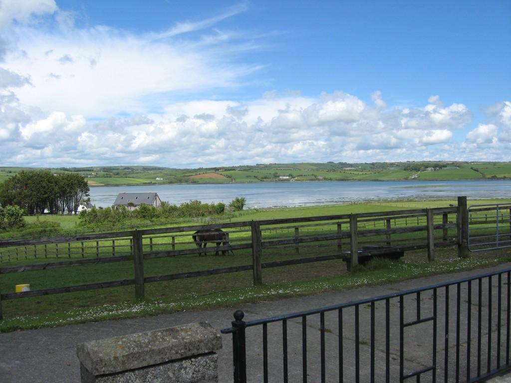 Arigadeen River view from Ballynamona farmstead, near Timoleague, County Cork