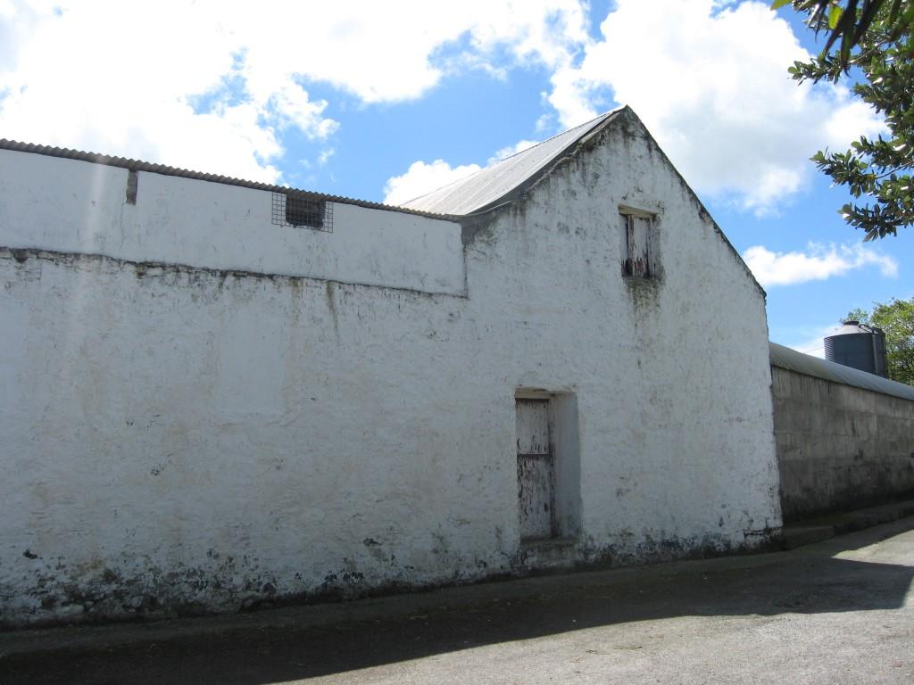 Oldest surviving building, Ballynamona farmstead