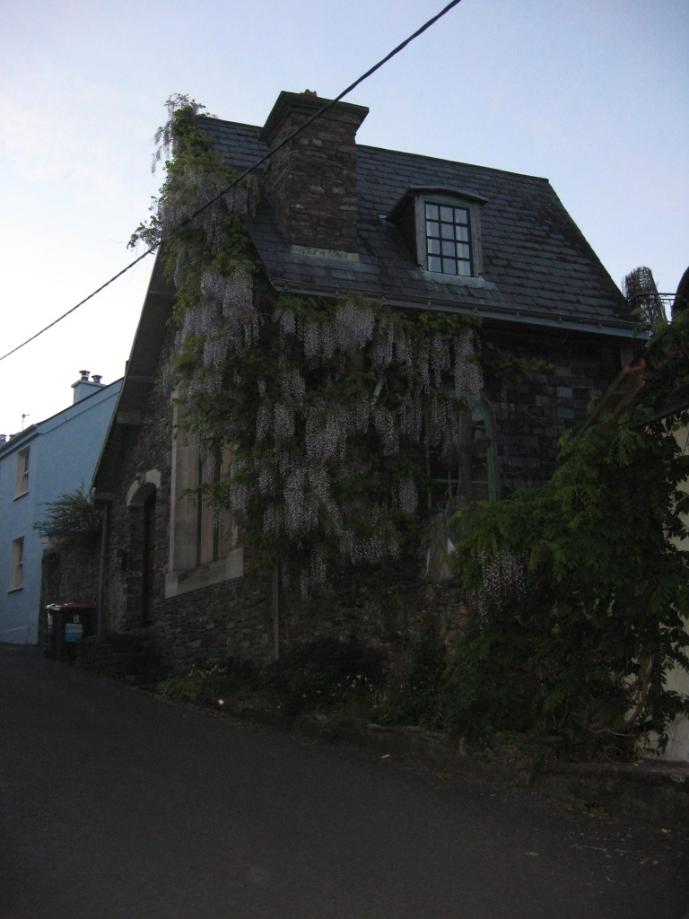 A decorated house on the stroll back to Acton's, Kinsale