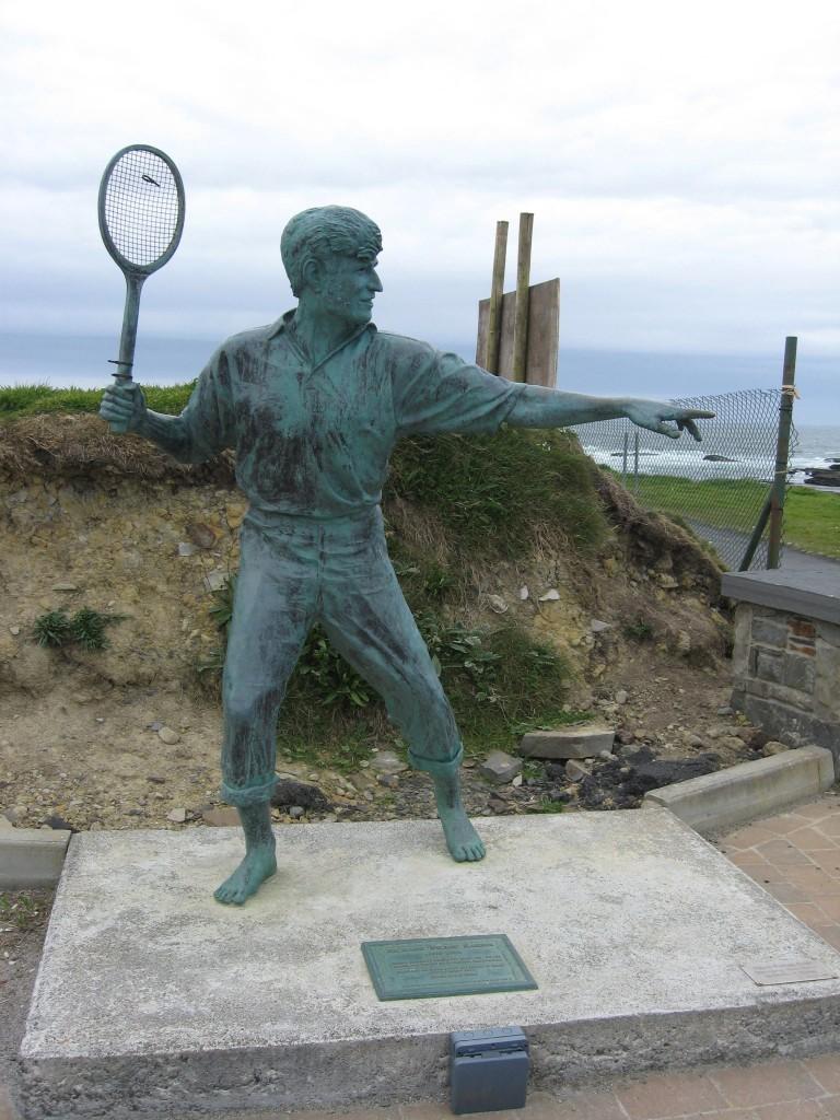 Richard Harris statue, Kilkee, County Clare