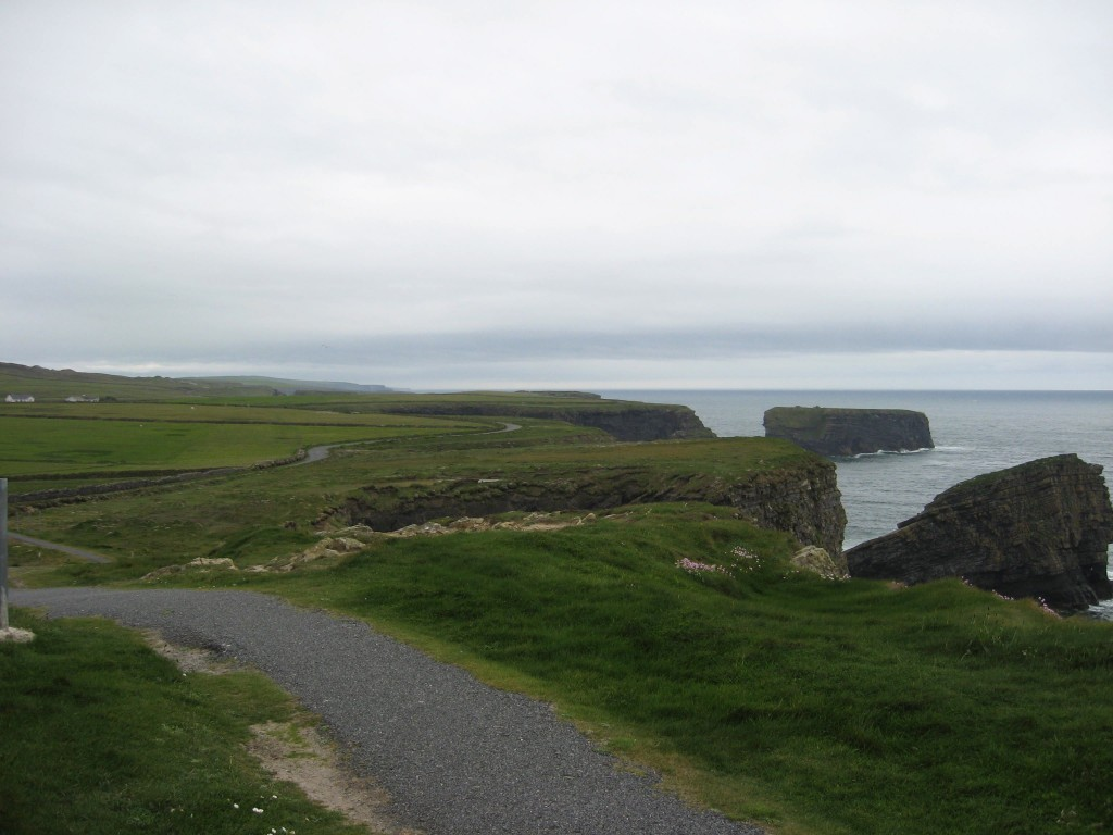 Clifftop view south, Kilkee, County Clare