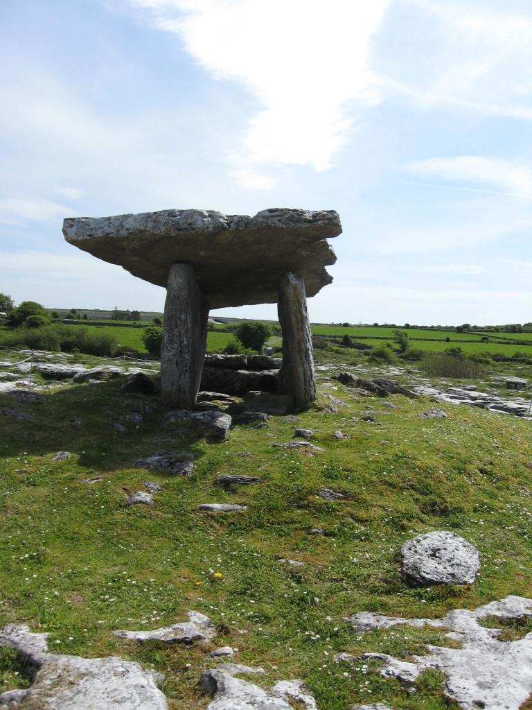 Poll na Brón dolmen (portal tomb), County Clare