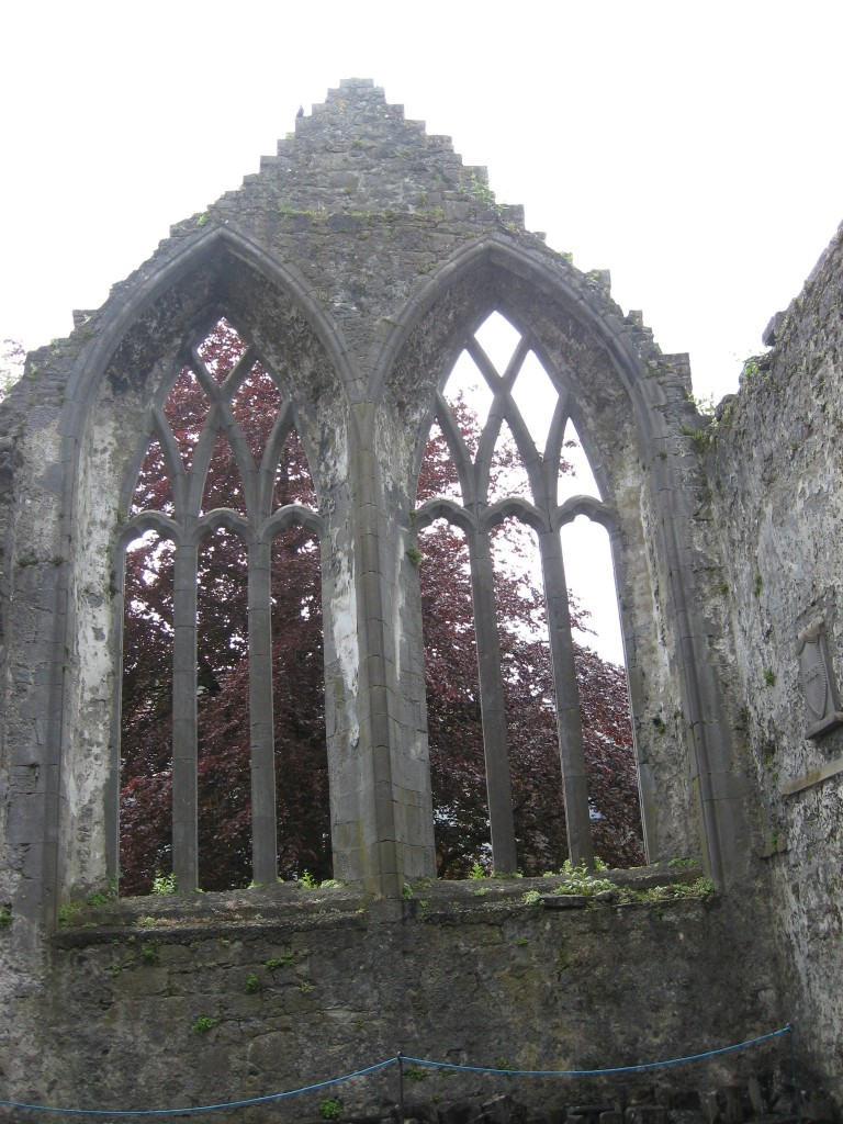 Transept windows (south), Franciscan Friary, Ennis, County Clare
