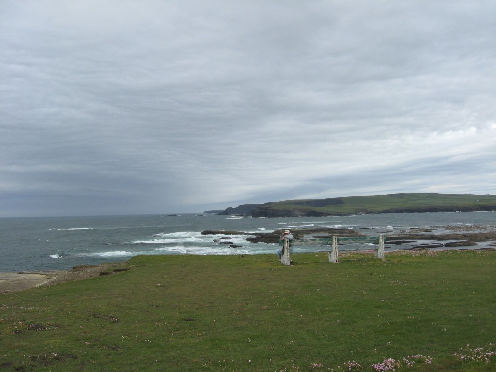 K looks to the Atlantic, Kilkee, County Clare