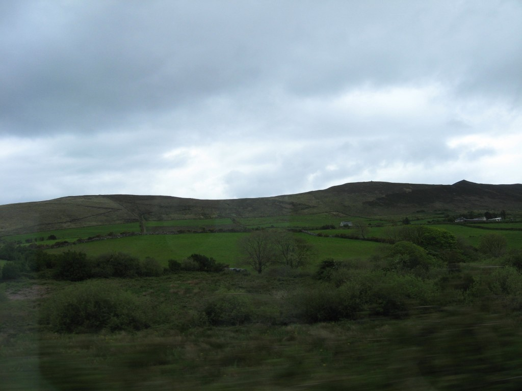 Along N69 between Limerick (Co Limerick) and Tarbert (Co Kerry)