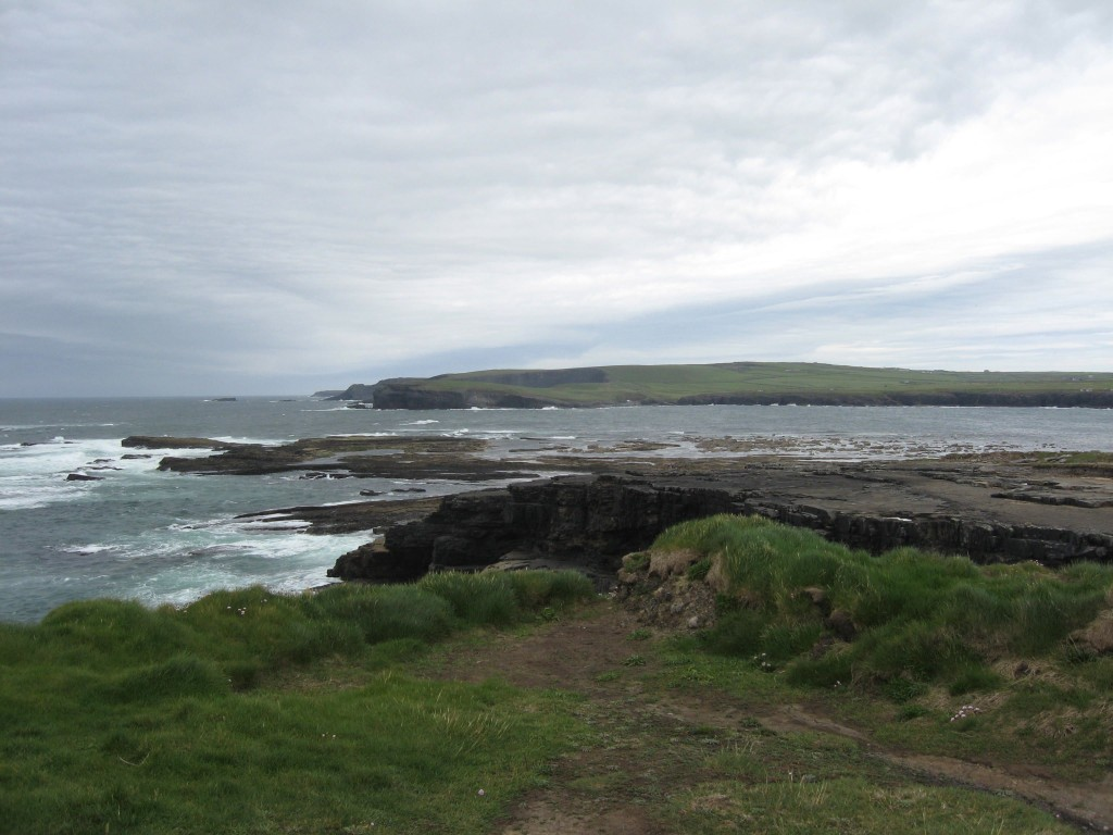 Looking south, Kilkee, County Clare