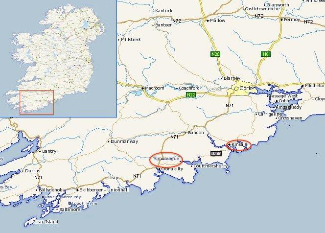 Day 7:  Timoleague and Kinsale, County Cork