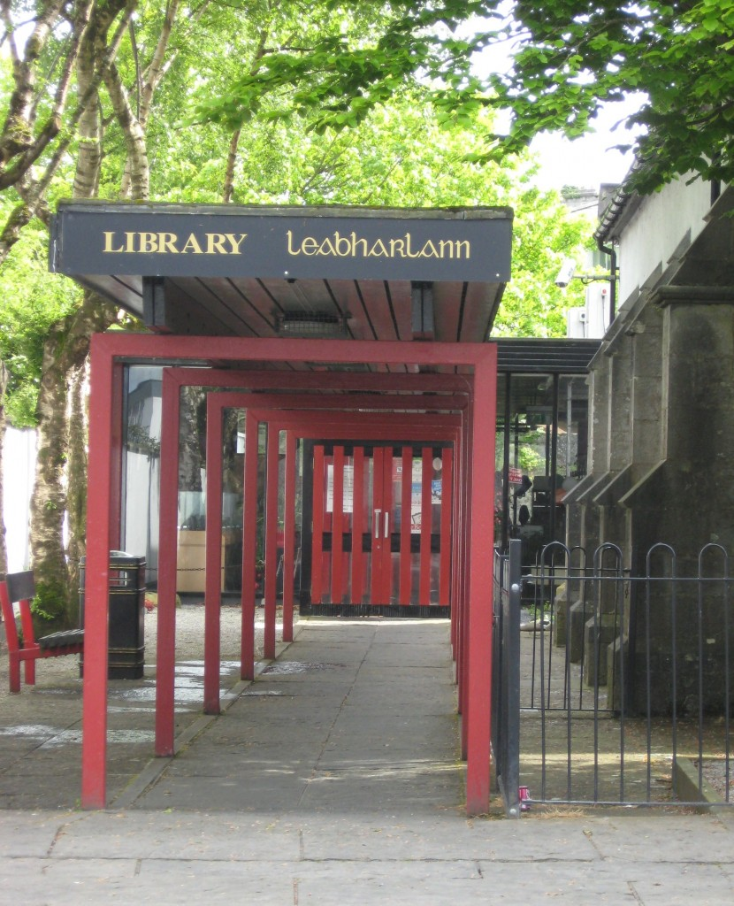 De Valera Library entrance, Ennis, County Clare
