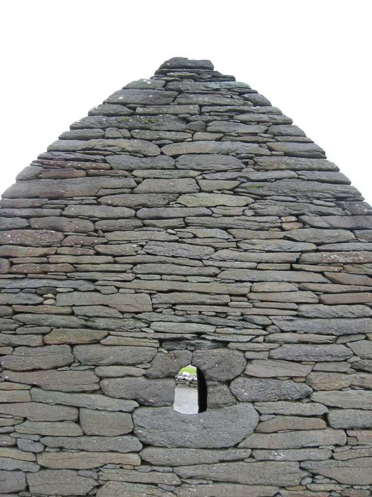 Back side, Gallarus Oratory, Dingle Peninsula, County Kerry