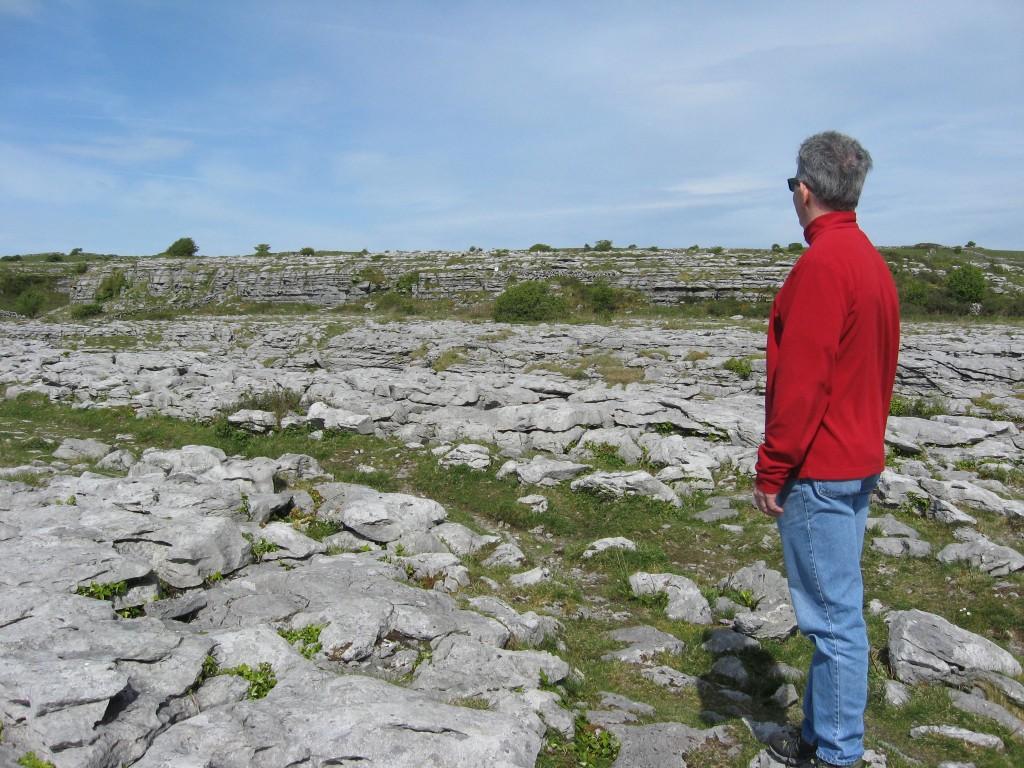 "Limestone ""paving"" near Poll na Brón, County Clare"