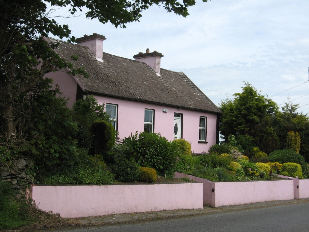 Pink House, Ennis-Kilrush Road, County Clare