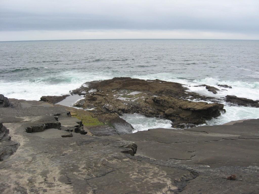 Rocky coast, Kilkee, County Clare