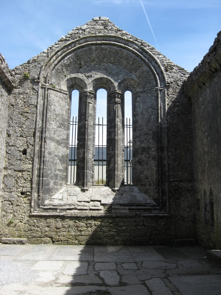 St. Fachtna's east window, Kilfenora, County Clare